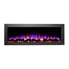 """Touchstone Sideline, Outdoor Rated 50"""" Recessed/Wall Mounted Electric Fireplace"""