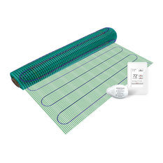 Floor Heating Kit 120V-TempZone Easy Mat 3'x10', Touch Screen Thermostat