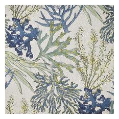 Coral Reef Oceanside Fabric by the Yard, Oceanside, Sample