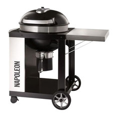 Rodeo Pro Charcoal Kettle Grill on Cart