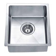 "DAWN - Dawn BS121307 14"" Single Bowl Undermount 18 Gauge Stainless Steel Bar Sink - Bar Sinks"