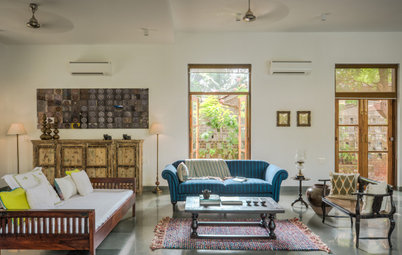 Goa Houzz: A Green Contemporary Holiday Home With Vernacular Elements