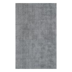 Solid Silver Rug, 8'x10' , Laramie LR100