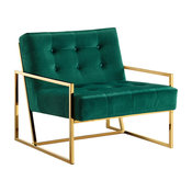 Pierre Gold Accent Chair