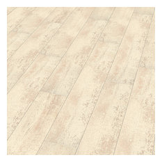 Contour Plank, Antique White, Set of 8