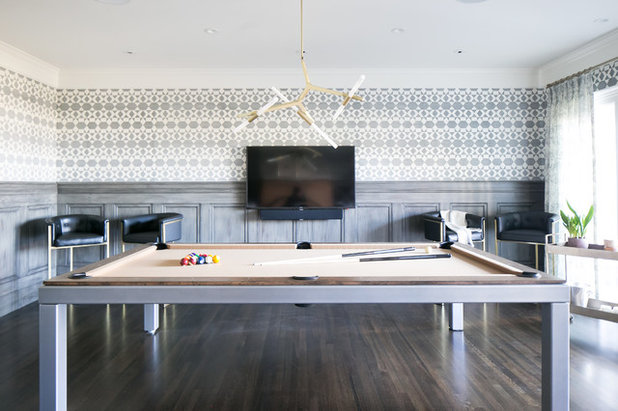 Light And Airy Update For A San Francisco Billiards Room