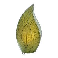 Outdoor Indoor Leaflet Lamp, Green
