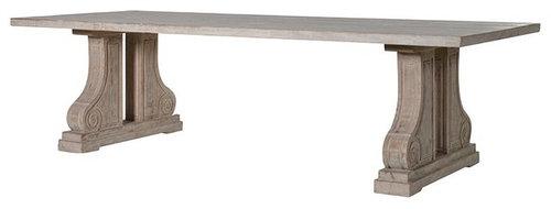 ラージソリッド ダイニングテーブル - ダイニングテーブル