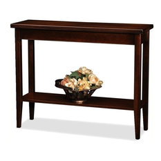 Bowery Hill Solid Wood Hall Stand In Chocolate Cherry