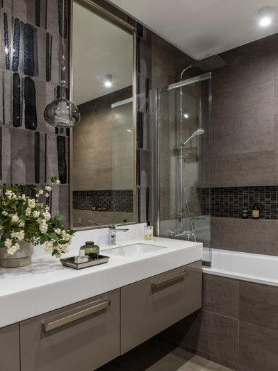Современный Ванная комната by Евгения Анненкова