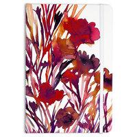 "Ebi Emporium ""Pocket Full Of Posies Red"" Maroon Purple Everything Notebook"