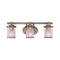 50 most popular brass bathroom vanity lights for 2018 houzz featured reviews of brass bathroom vanity lights aloadofball Image collections