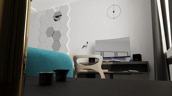 Дизайн комнаты, 15 м2