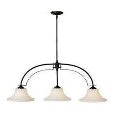 F2248/3 Barrington 3-Light Chandelier, Oil Rubbed Bronze