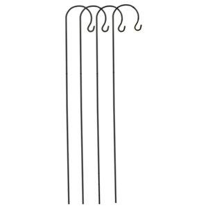 Selections Metal Border Hooks, 1.5 Metre, Set of 4