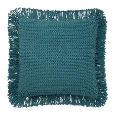 "Loloi x Justina Blakeney P0806 Decorative Throw Pillow 22""x22"" Cover Only Teal"