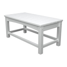 Eco-friendly Coffee Table in White