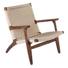 Aleutians Arm Chair, Walnut