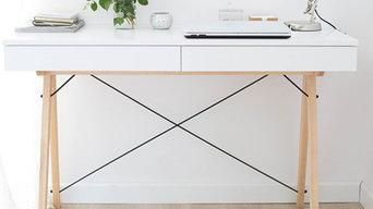 Schreibtisch BASIC WHITE