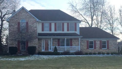 Exterior brick colors make house look outdated!