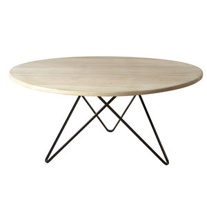Jabo Furniture Paris Coffee Table, White Stained, Small