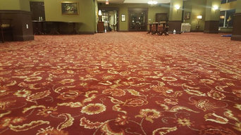 Carpet Cleaning on Location in Oakville, Ontario.