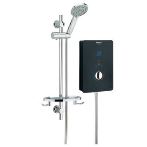 Modern Electric Shower, Digital Display With Touch Controls and Super Sleek Look