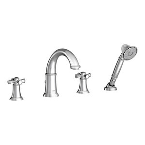 American Standard T064900.002 Serin Roman Tub Faucet for Flash Rough-In Valves Polished Chrome