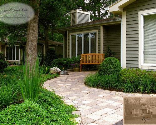 Front Walkway Landscaping - Front Walkway Landscaping Houzz