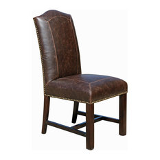 Vintage Leather Dining Chairs vintage metal dining chairs | houzz