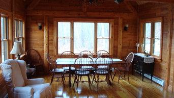 Big Twig Homes Katahdin cedar log home
