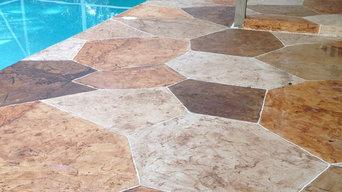 patio stone surface