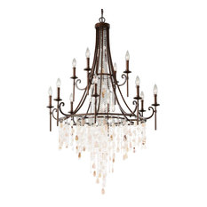 Feiss 12-Light Multi-Tier Chandelier