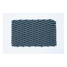 Large Dark Gray/ Navy Doormat
