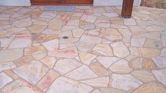 Stone floors