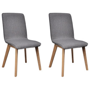 Prime Coaster Barett Mid Century Modern Dining Chairs Set Of 2 Gamerscity Chair Design For Home Gamerscityorg