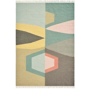 Brink and Campman Tipi Rug, Yellow, 140x200 cm
