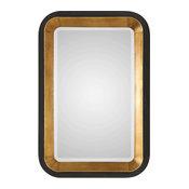 Niva Metallic Gold Wall Mirror (09301)