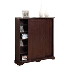 4D Concepts - Sliding Door Multimedia Stand - Media Cabinets