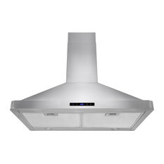 akdy home improvement lance range hood with 2 mesh filters range hoods and vents - Stove Hoods