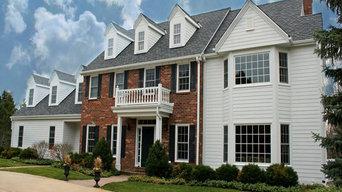 New GAF Roof, Marvin Windows, and HardiPlank Siding