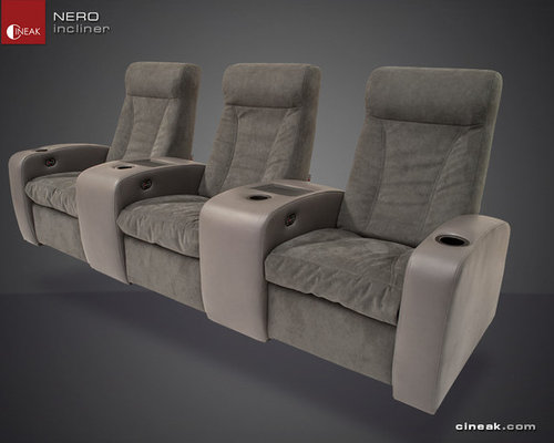 media room furniture seating. media room seating by cineak u003eu003e nero recliner chairs furniture