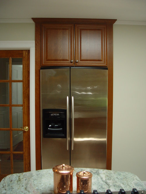 Projects: Kitchen Remodeling Projects - Refrigerators