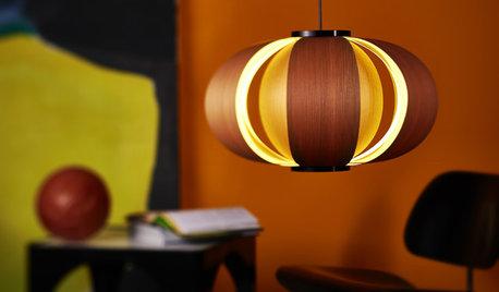 Lámpara Coderch: Un farolillo de láminas de madera y tres tonos de luz
