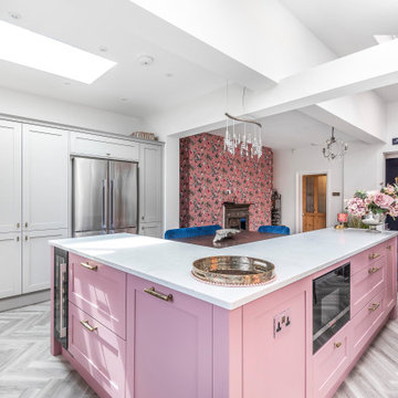 A kitchen space for family fun