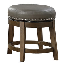 Josie 18-inch Round Swivel Stool Set Of 2