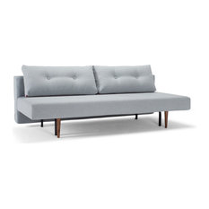 MOD - Convertible Tufted Sofa Bed, Light Gray - Sleeper Sofas