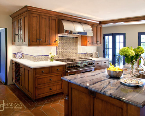 Spanish Colonial Kitchen | Houzz