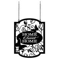 Home Sweet Home Metal Garden Flag