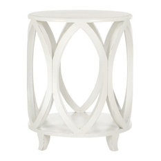 Janika Accent Table Off White